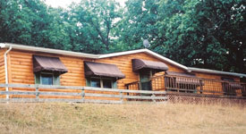 Hunting Lodge at High Adventure Ranch