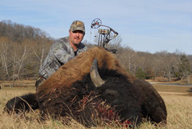 Buffalo Hunting at High Adventure Ranch