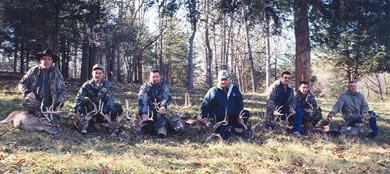 Whitetail Hunters at High Adventure Ranch